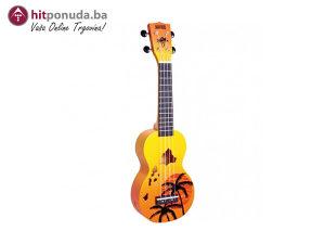 mahalo MD1HAORB HAWAII orange burst-ukulele/10951