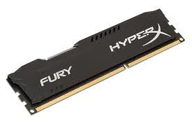 Ram DDR3 8GB 1600MHz Kingston HyperX Fury Black