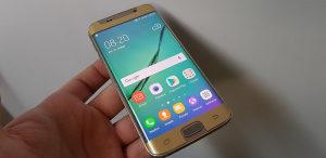 Samsung Galaxy S6 edge  32gb  gold  extraa