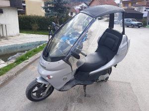 Beeneli adiva 125 sa krovom skuter scooter