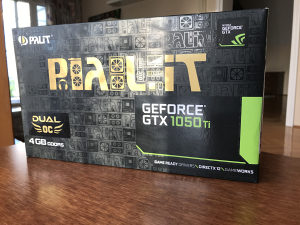 Palit Geforce 1050Ti 4GB Dual OC