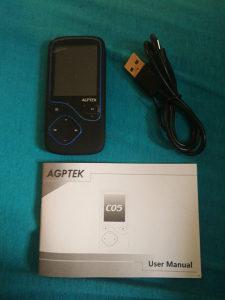 Agptek mp3 player CO5 8GB
