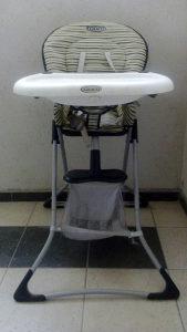 Stolica za hranjenje graco