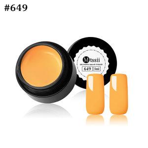 Gel Paints Soak-off Orange UV/LED gel za nokte 5ml 649