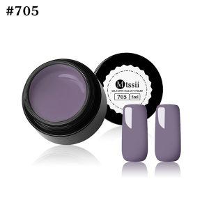 Gel Paints Soak-off sivi UV/LED gel za nokte 5ml 705