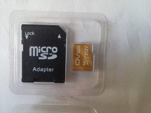 Micro SDXC mamorijska kartica, 512GB