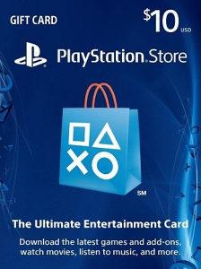 PSN Playstation 10$ USD10 USA (7132)