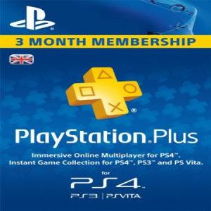 PSN Playstation Plus 90 Days Engleska (7130)