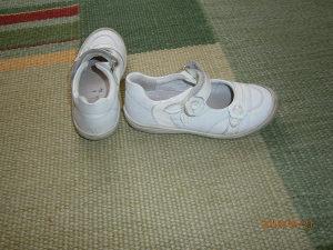 Richter kožne bijele cipelice...Broj 27..Kao nove!