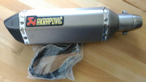 Akrapovic Titanium auspuh za motor