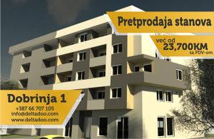 Stanovi od 19 do 80m2 u izgradnji, Istočno Sarajevo