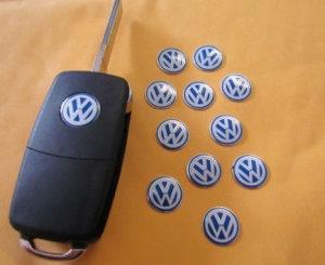 Znak za kljuc VW Plavi / Crni