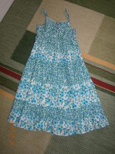 Krasna C&A haljinica.Broj 152..Kao nova!