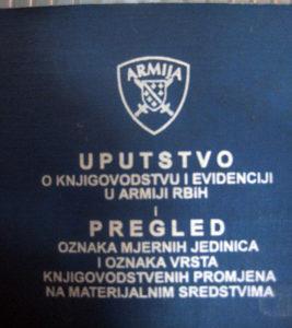 ARMIJA REPUBLIKE BIH - Uputstvo ...