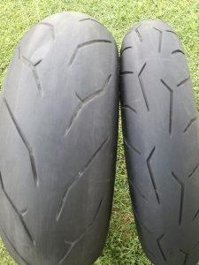 Set guma za motocikli 120/70/17 190/50/17