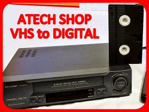 PRESNIMAVANJE - VHS VCR VIDEO / AUDIO KASETA / DVD / CD