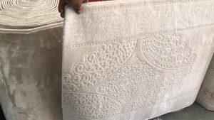 100% vuna Turkey bijela boja tepisi i staze