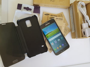 Samsung Galaxy S5 SV G900F 16MP Crni Original