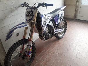 Yamaha yz250f 2008