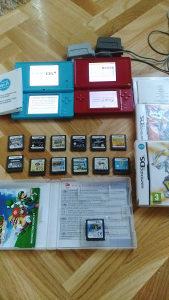 Nintendo DS WiFi i Nintendo DS Lite plus 15 igrica