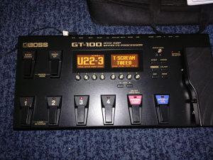 Boss GT 100 Procesor