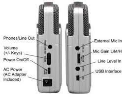 Mobile Audio Recorder Zoom H2 H4