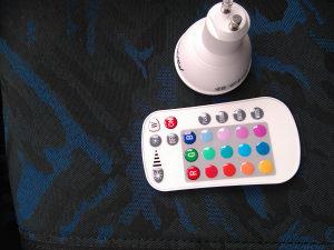 RGB LED Sijalica sa daljinskim sa mjenjanjem 250 boja
