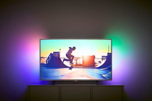 "Philips 4K 43"" UltraHD TV 43PUS6412 Android AMBILIGHT"