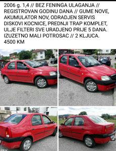 Dacia Logan 2006 g.// BEZ FENINGA ULAGANJA