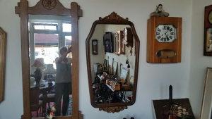 Stilski namjestaj stilsko ogledalo drveno