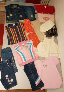 Garderoba za bebe,majice,farmerke,teksas jakna,haljina,