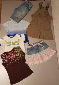 Garderoba za djevojčice za uzrast 5-6 god.