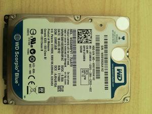 "Hard Disk 320GB WD Blue 2.5"""