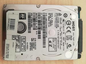"Hard Disk 320GB HGST 7200RPM 2.5"""