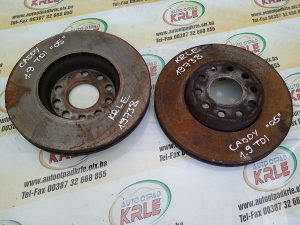 Prednji disk diskovi Caddy Kedi 1.9 TDI KRLE 19738