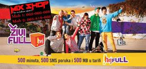 ERONET TOP BROJ/BROJEVI FULL TARIFA *063-446-444*