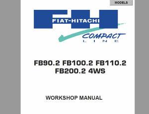 Fiat Hitachi FB90 -100.2 -110.2 -200.2 4WS priručnik