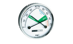 672204 Mjerač temperature/vlage analogni TFA sebrena