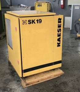 Vijcani kompresor Kaeser 11 kw SK 19
