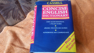 CASSELL CONCISE ENGLISH DICTIONARY