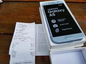 Samsung galaxy A5 2017 Blue Mist 2 god garancija