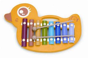 Igračka Drveni ksilofon  - patka