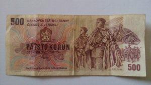 Novčanice Čehoslovačka 1973.