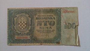 Novčanice Hrvatska NDH 1941.