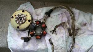 Namotaji i Magnet komlet za piaggio gilera 50cc