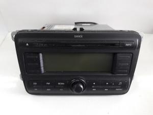 RADIO CD DIJELOVI SKODA FABIA > 07-10 5J0035161A