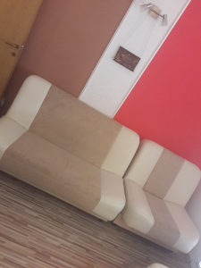 Garnitura,dva kauča i fotelja
