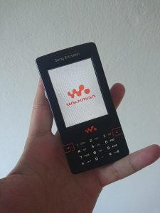 Sony Ericsson W950i | Unikatno