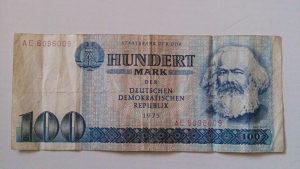 Novčanice Njemačka DDR 1975.