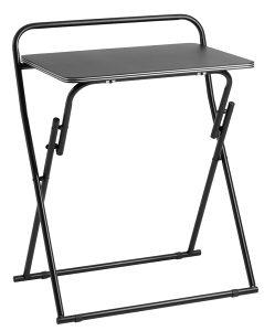Radni stol sklopivi crna